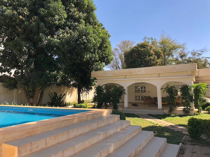 Jardin revitalisant hypercentre de Niamey
