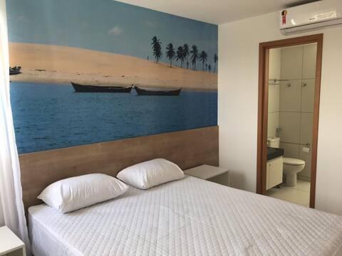 Apto em resort na Barra de São Miguel
