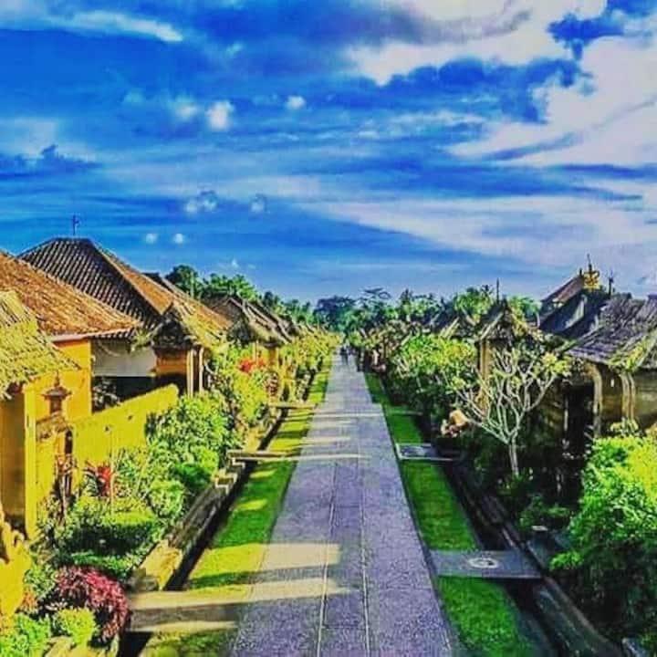 Penglipuran bamboo house