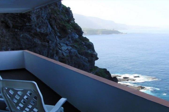 Ferienappartement direkt an der Steilküste - Puerto de la Cruz - Apartament