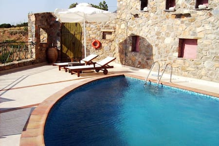 Artemis sea view villa in Elafonisos area - Chania