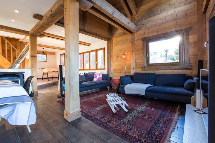 Luxury Chalet in Valmorel - Les Avanchers-Valmorel - Maison