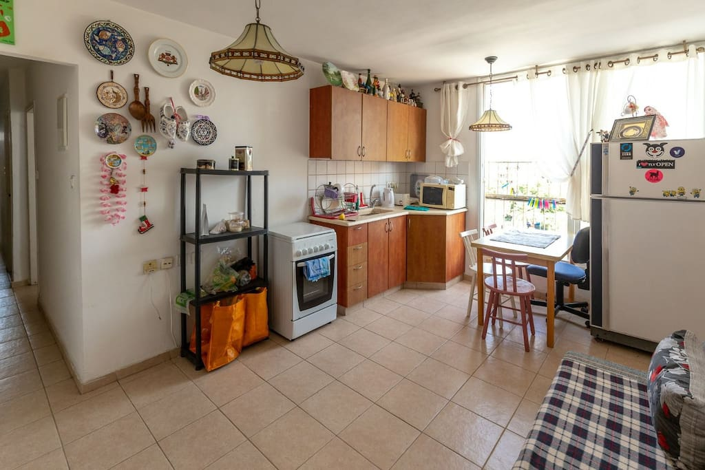 Fully equipped kitchen at your service