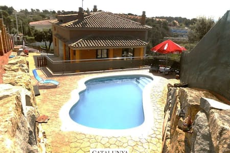 Sublime villa in Pedrasanta, just 25km from Barcelona - Barcelona Region