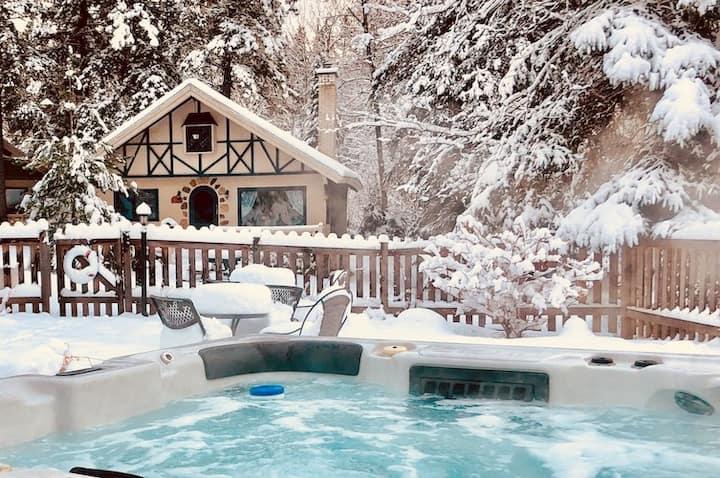 Heart of ValDavid #6 Pool•Lake•Hiking•Spa•