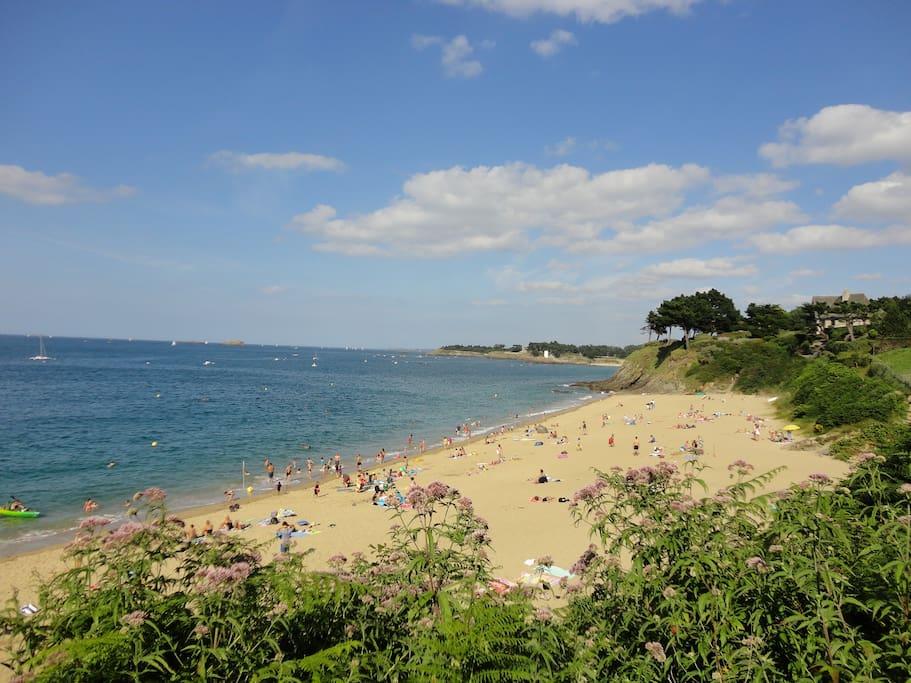 La plage à côté