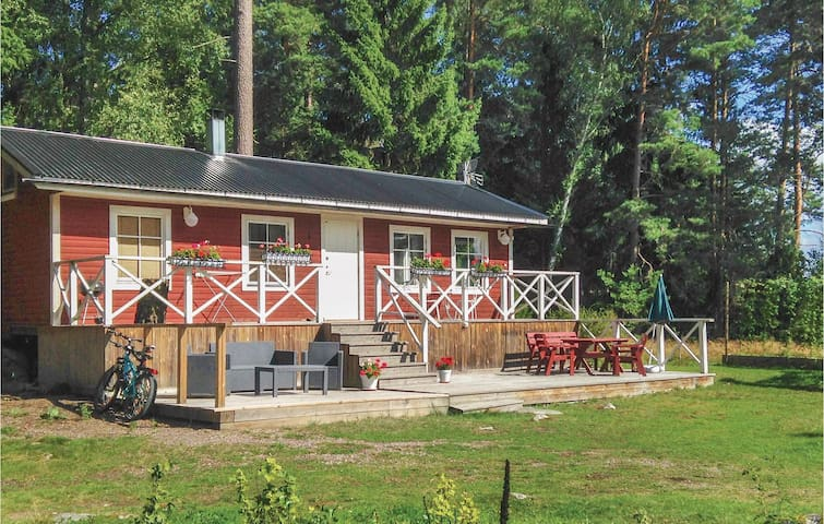Holiday cottage with 1 bedroom on 45m² in Bålsta