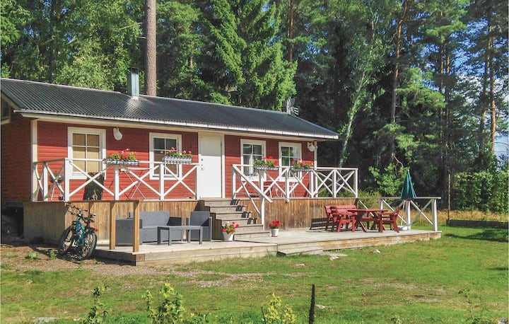 Nice home in Bålsta with Sauna and 1 Bedrooms