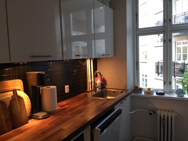 97 m2 in Århus C - lovely apartment with balcony
