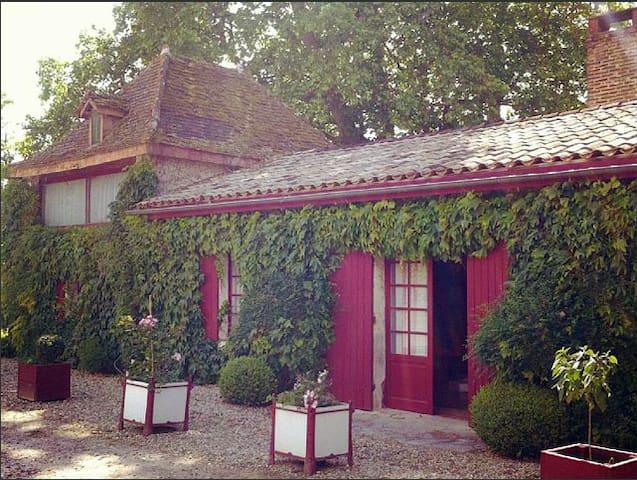 Maison de charme proche Bordeaux - Gans - Casa