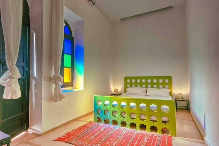 Maison d'Horme, Green Jr. suite, fiber optic wifi.