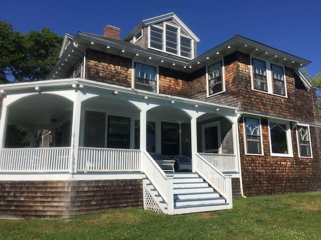 """Huge Victorian """"Cottage,"""" Overlooking the Ocean"""