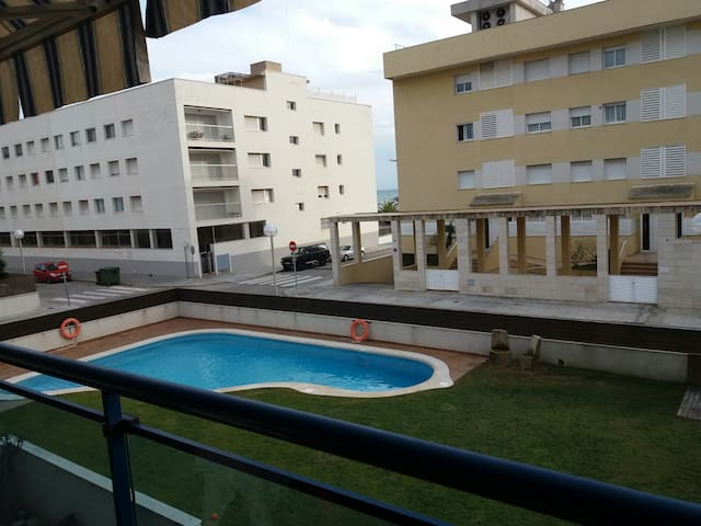 Double room 1 minut walk from the beach - Cubelles
