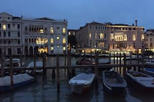 The Grand Canal close to the apartment