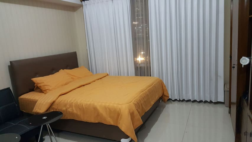 Pool view apartment in business district area