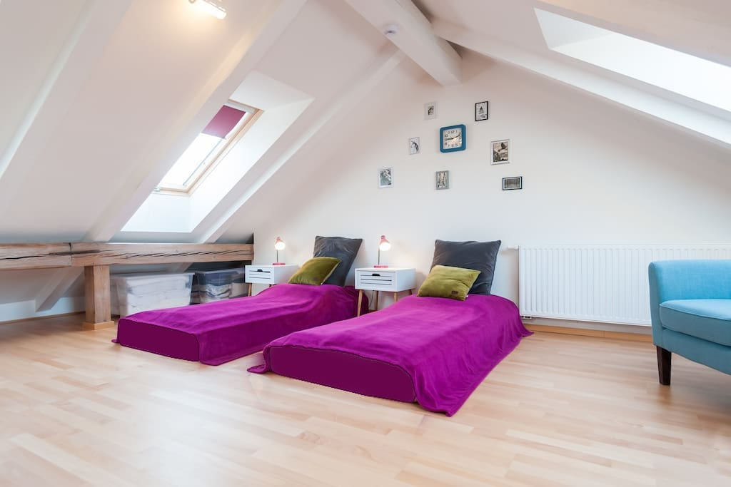 Second bedroom - attic space ( not only for the children :)
