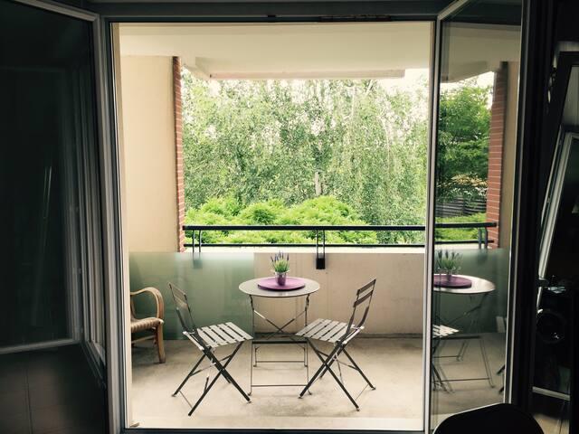 Appart lumineux & calm avec tout T2 - Toulouse - Apartment