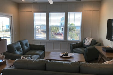 A Brand New Beach House on St. George Island, Fl