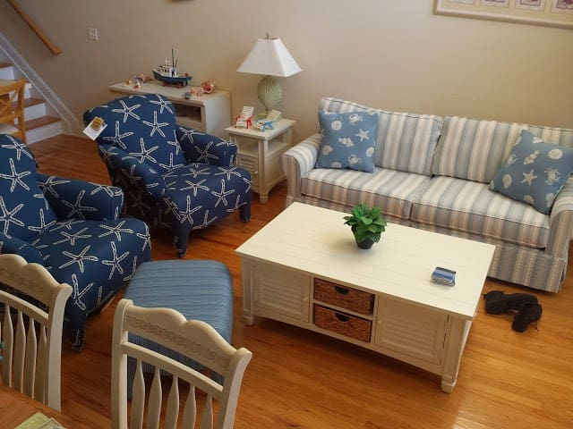 NJ Shore modern 3BR condo with Ocean Views - Seaside Heights - Condomínio