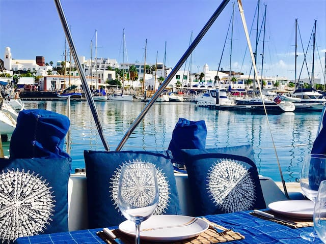 "Private modern sailing boat ""Mar Azul """