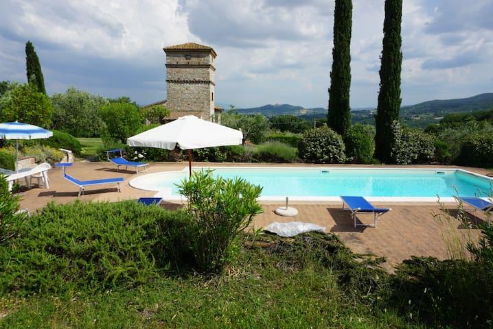 Antico Casale in pietra con piscina privata