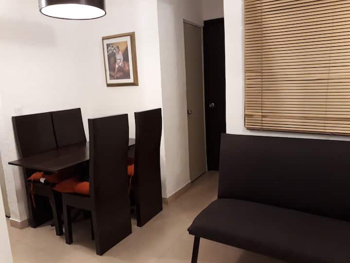Departamento en Xochimilco para 4 personas