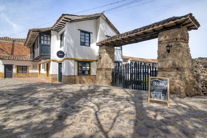 Selina Villa de Leyva - Standard Twin Room