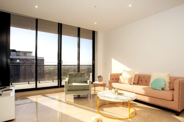 Family Penthouse - WIFI/Parking/Outdoor Facilities