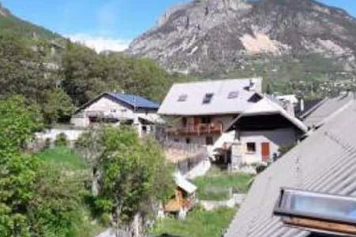 Maison de village au coeur du pays des ecrins
