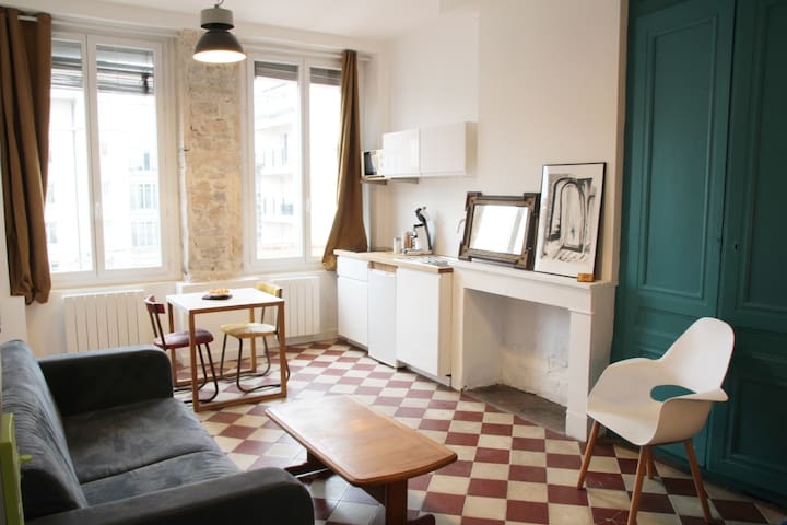 Nice studio in the heart of Lyon