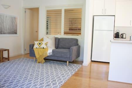 Private and quiet garden apartment
