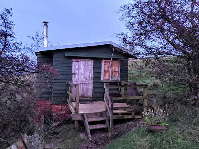 Alden Valley Shepherds Hut - Dots Farm