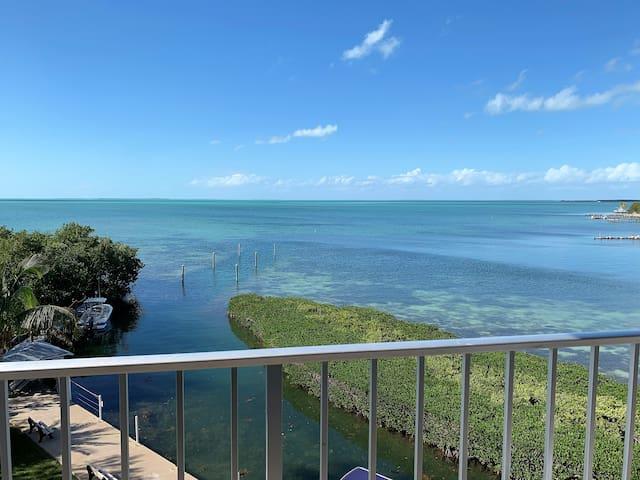 Stellar View off private balcony