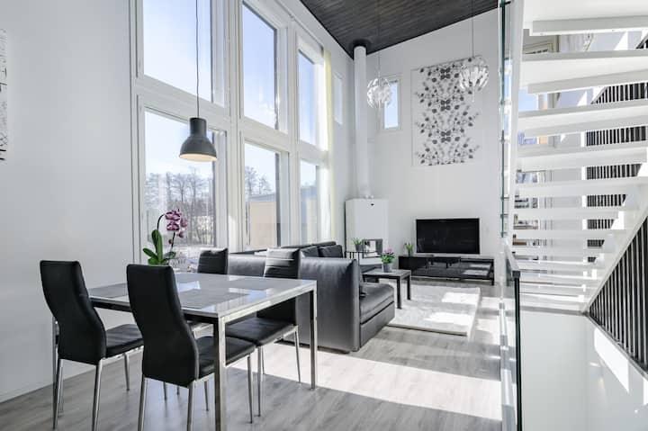 Modern house near Helsinki