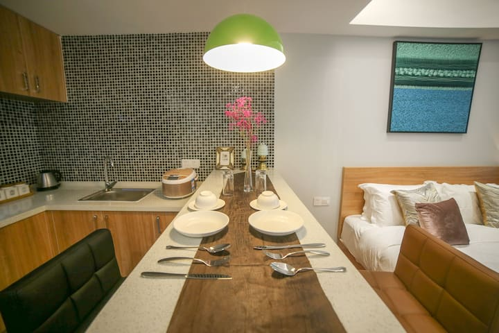 感受二人世界温馨的家,豪华单室套房 - Suzhou