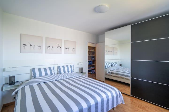 Chambre 3 (avec lits combinés)