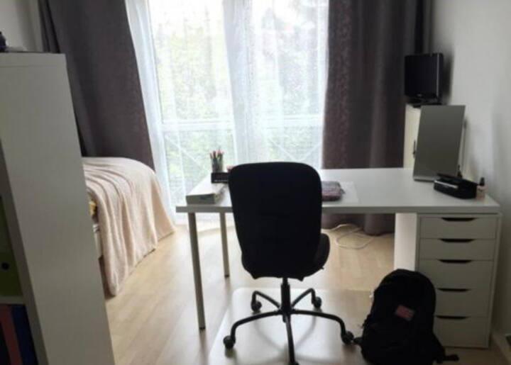 1 room apartment next Hochschule Mannheim