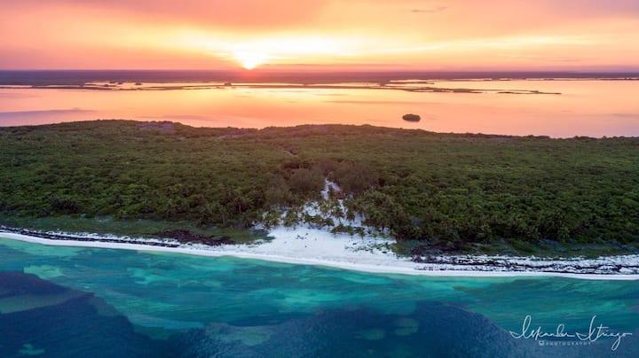 PRIVATE beachfront caribbean villa Tulum Sian Kaan