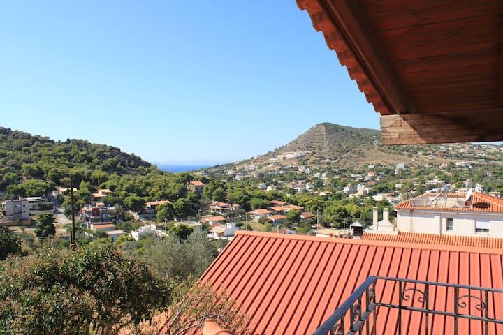Your Home in Athens next to the sea! - Kalivia Thorikou - 獨棟