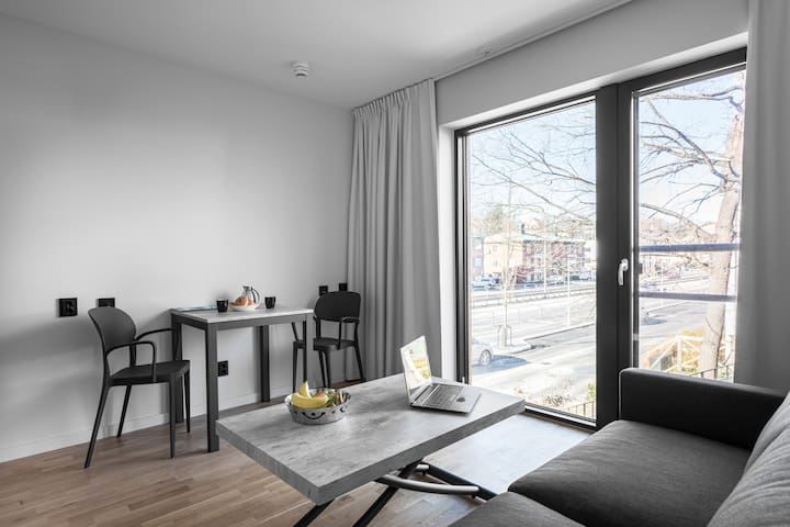 Cosy Studio close to Stockholm w. free Parking