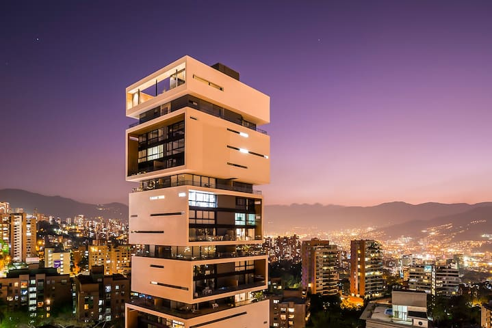 Medellin's Luxury Dream 1 BR at Energy Living - Medellín - Lägenhet