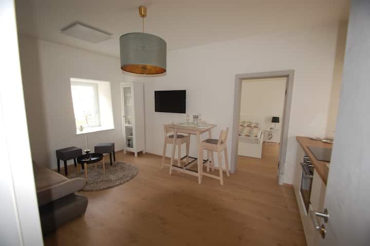 Apartment für 2 Personen mit Whirlpool