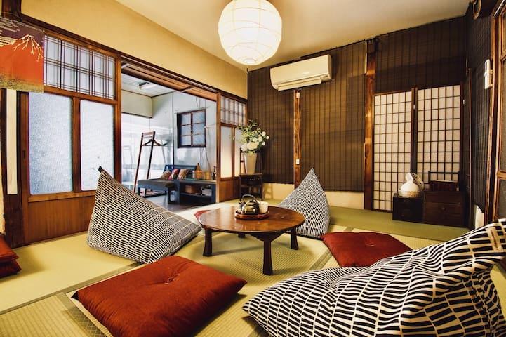Japanese traditional house Namba!Dotonbori 9pax