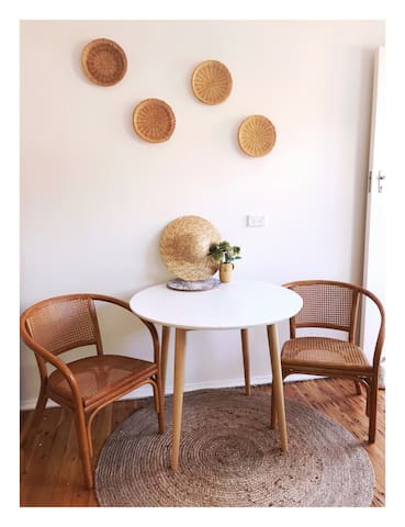 Our Dining Area Styled With Vintage Pieces