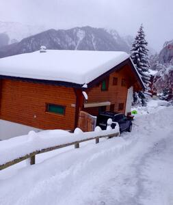Beautiful chalet,right in the center,ski in-out - Riddes - Chalé