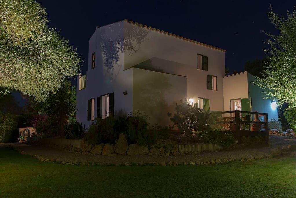Enjoy our Villa by Nights Light