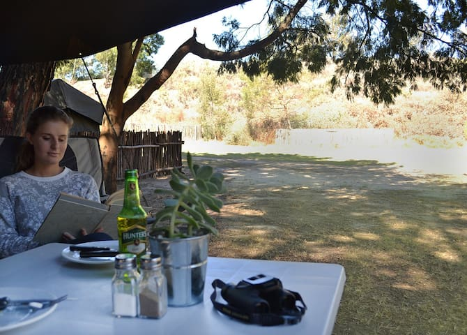 Langdam Guest Farm, Safari Tent 6