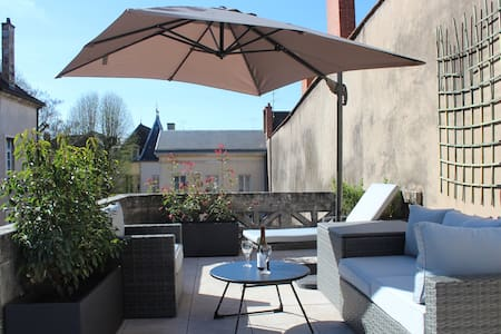 Loft with private rooftop and parking. - Dijon - Haus