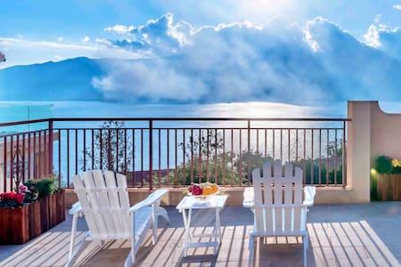 观云度假⛱️海景别墅17号|超美海景大院子|床上看洱海|3晚接机密码入住多套房源