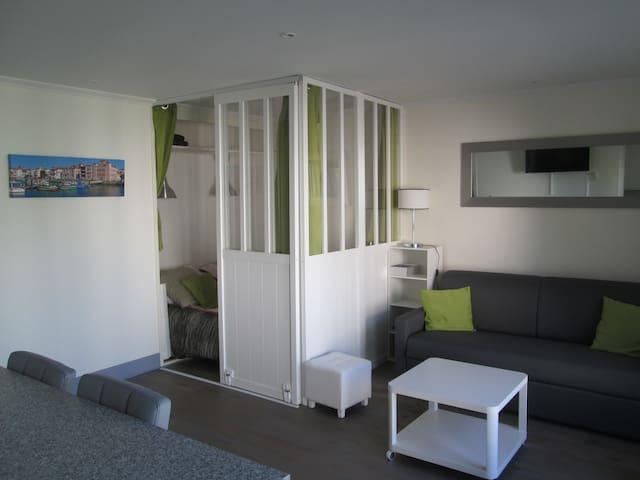 STUDIO SAINT JEAN DE LUZ A LA NIVELLE - Saint-Jean-de-Luz - Appartement en résidence